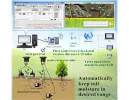 Solar Powered, Moisture Sensor based/Timer, Wireless, WiFi/3G Intelligent Irrigation System